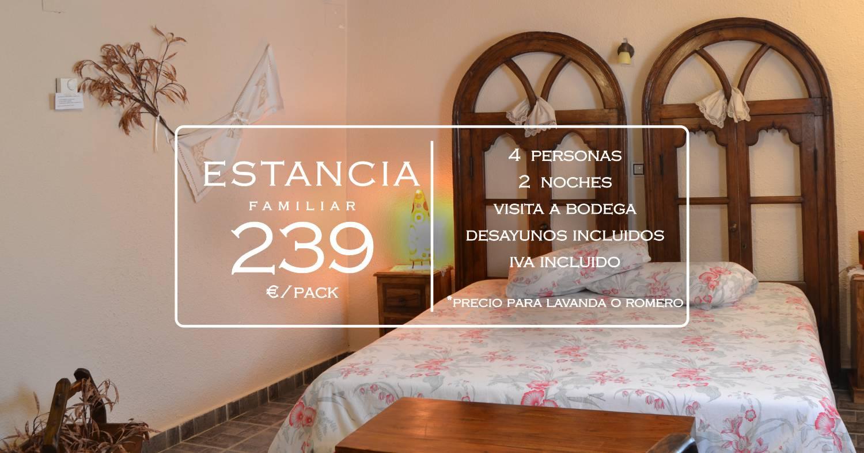 Oferta familiar en casa rural La Aldea Encantada